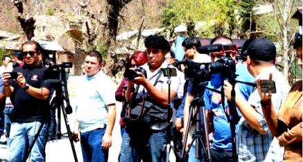 萨尔瓦多共和国记者团访陕西省终南山寨旅游产业扶贫成果