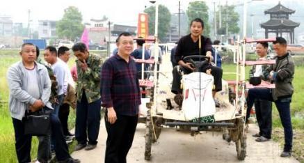 全州县2020年新型农业机械推广演示现场培训会召开