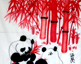 南方熊猫王书画家陈国茂:熊猫是国宝 世界自然形象大使